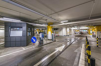 parkeren dusseldorf airport p4